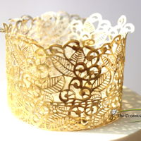 Home Made Edible Lace Tutorial Tutorial for making edible laces from scratch at home with all available ingredients.
