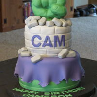 Hulk Birthday Cake Hulk Birthday CakeFist is RKT