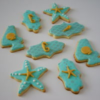 Little Mermaid Cookies For my daughter in her birthday