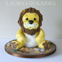 Logan The Toy Lion   Toy Lion Cake