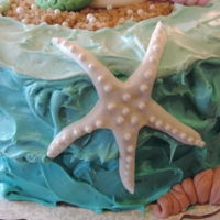 Mermaid Birthday Cake My daughter LOVES mermaids. This cake was special for me to make for her and I know she is going to love it. I made the mermaid and...