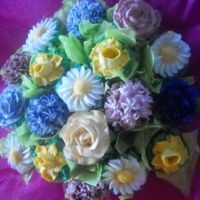 Mother's Day Sweet Bouquets (Tm) One Dozen Spring Flowers arranged in a beautiful Sweet Bouquet(tm) for Mother's Day