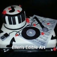 Music Month Cake Music Month Cake for a local Middle School