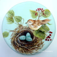 Nest - Spring Has Sprung Painted cake.