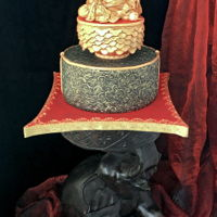 The Laughing Buddha Or Hotei Cake I did not think of making a cake that month. My daddy wanted a sweet for his birthday. But it all started with an elephant . Close to my...