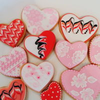 Valentine Shortbread February Fun.