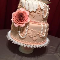Vintage Birthday Cake Made for a lady turning 86!