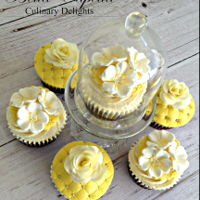 Yellow Cupcakes Yellow Cupcakes by Bella Capella Culinary Delights in Queenslands Central Highlands.