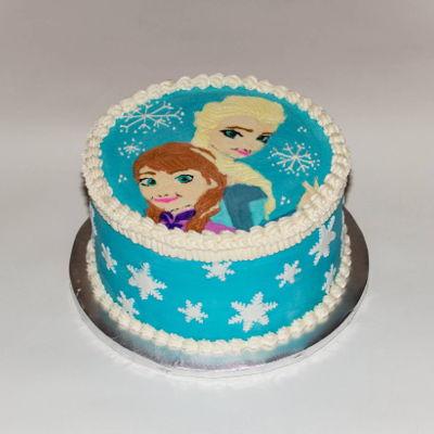 Anna Cake Decorating Photos