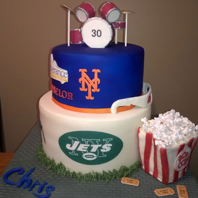 Mens 30Th Birthday Cake