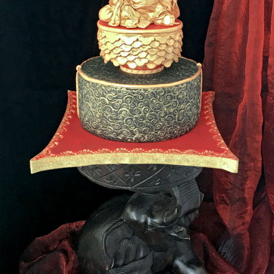 The Laughing Buddha Or Hotei Cake