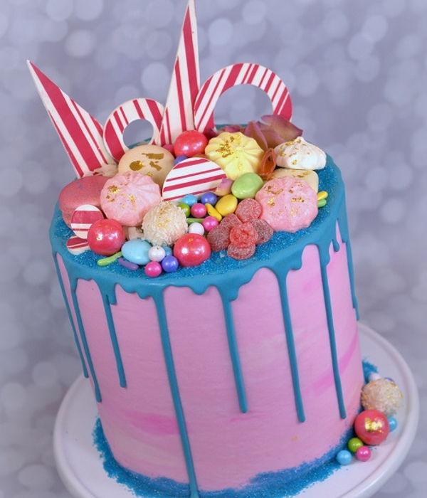 Drippy Sweets Cake