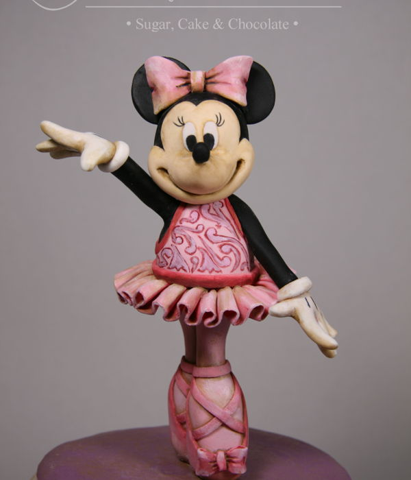 Minnie Mouse Vintage Music Box