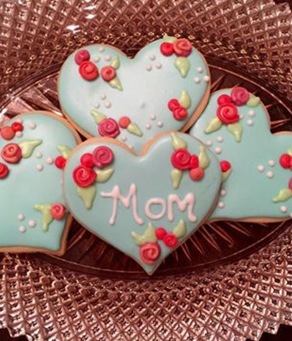 Royal Icing Mother S Day Cookies