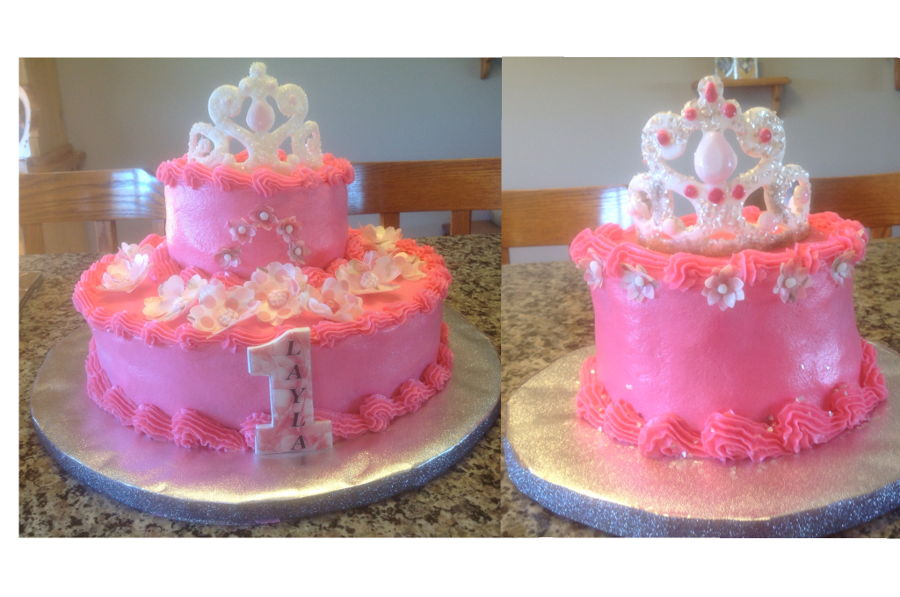1st Birthday Princess Cake Smash Cake Cakecentral