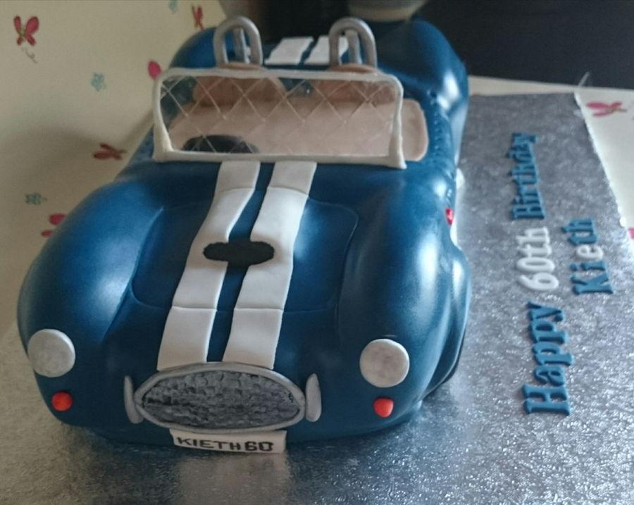Ac Cobra Birthday Cake CakeCentralcom