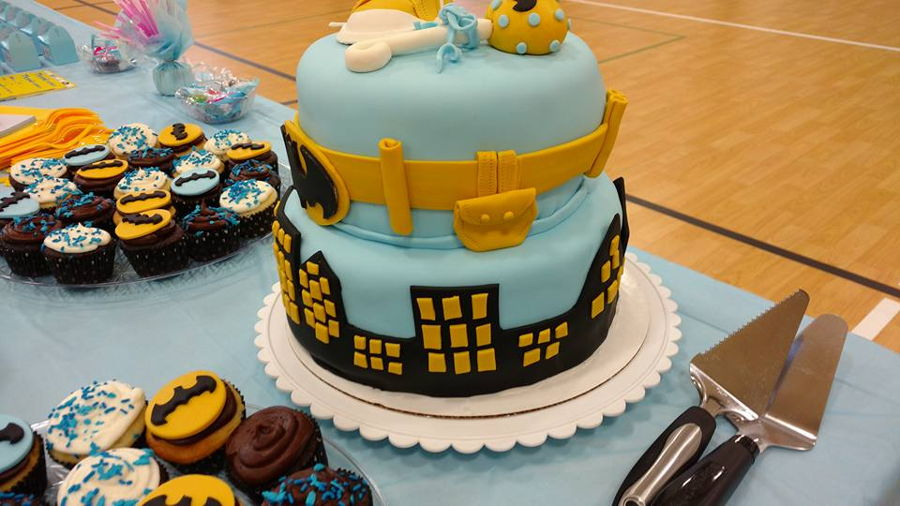 Batman Baby Shower Cake Cakecentral Com