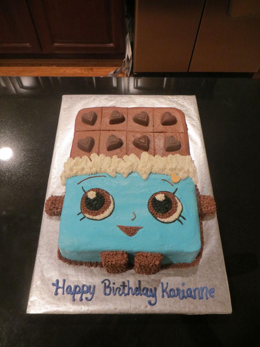 Cheeky Chocolate Shopkin Cake Cakecentral Com