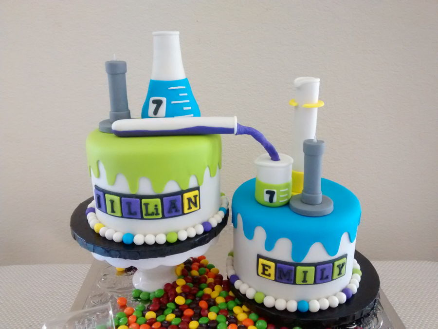 Chemistry Birthday Cake Ideas