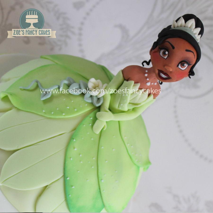 Disney Princess Tiana Doll Cake Tutorial Cakecentral Com