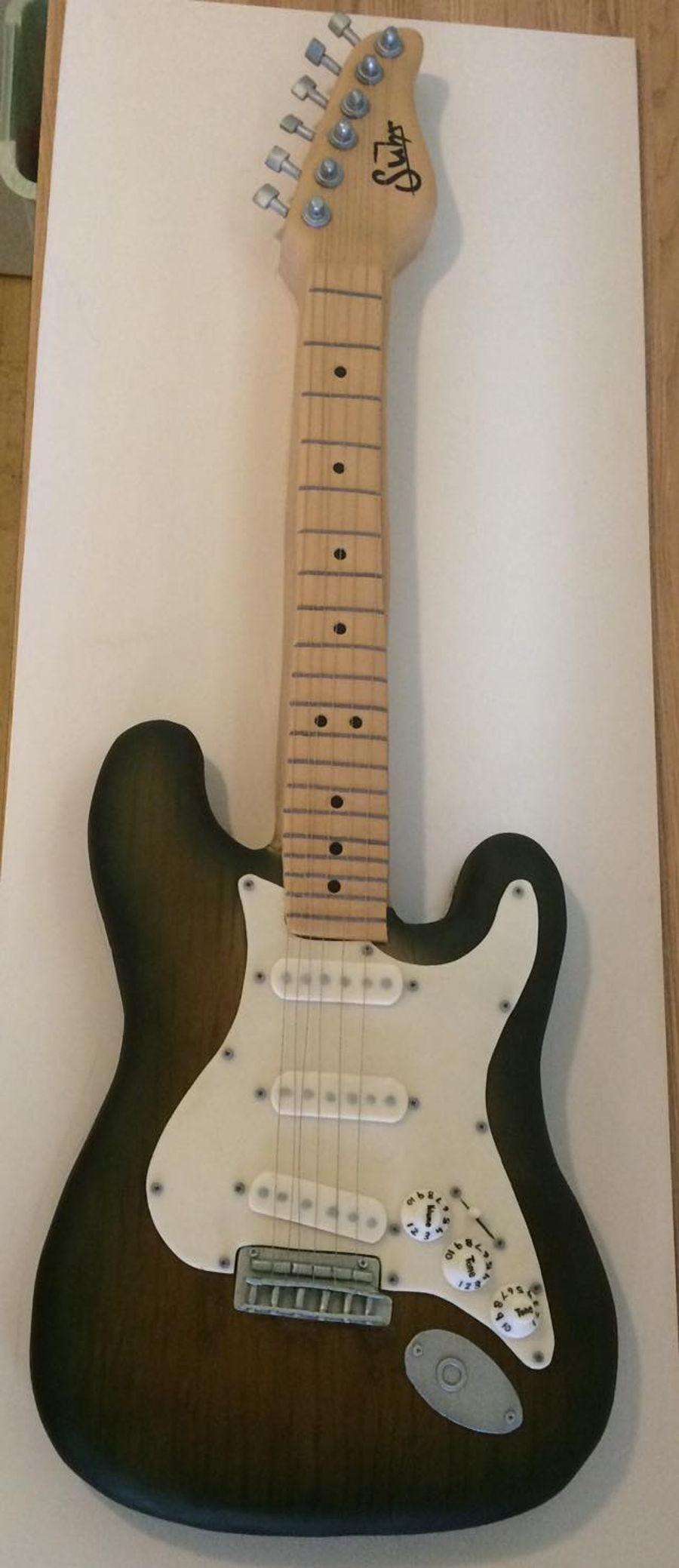 Electric Guitar Cake - CakeCentral.com