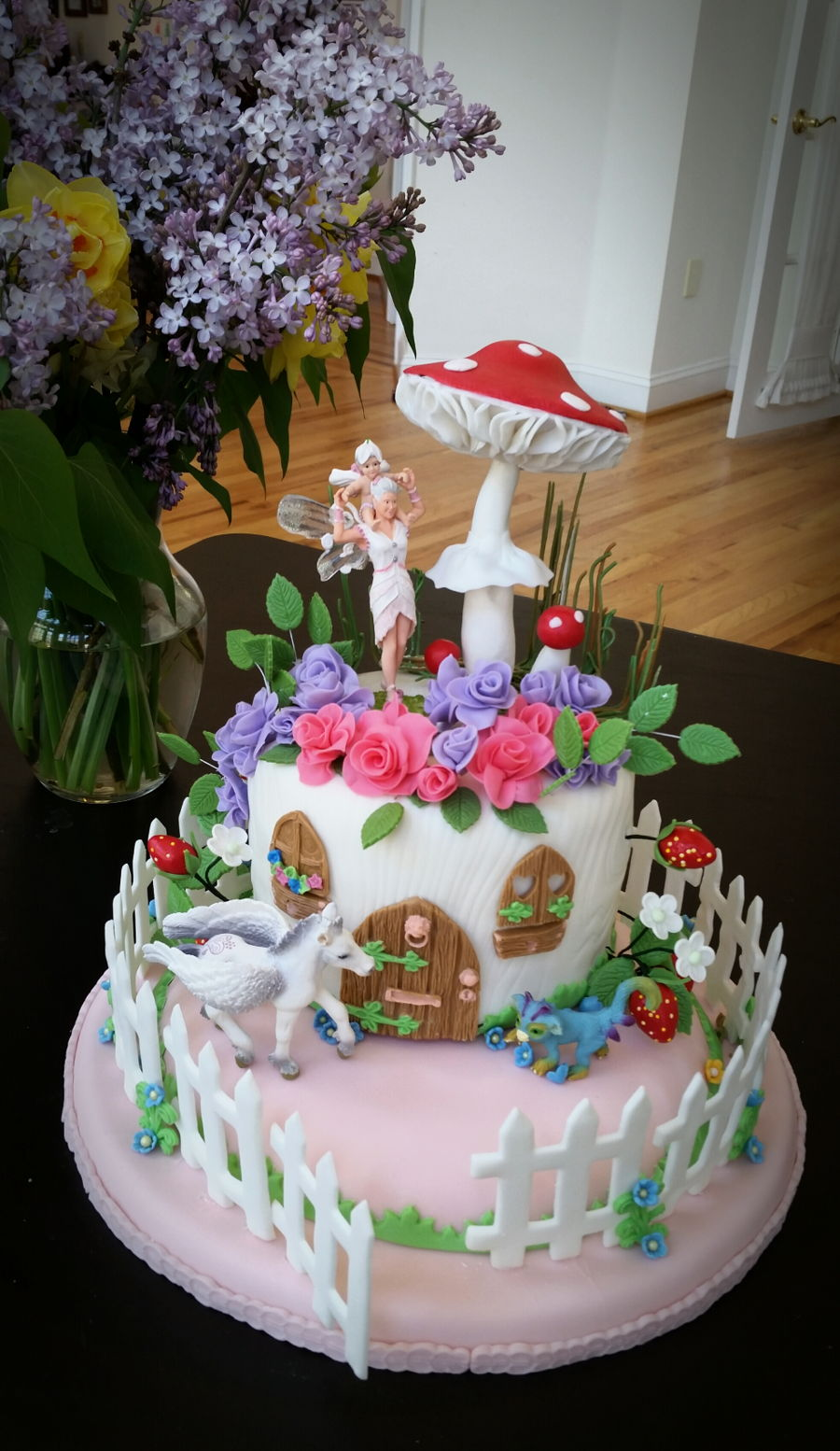 Fairy Home on Cake Central