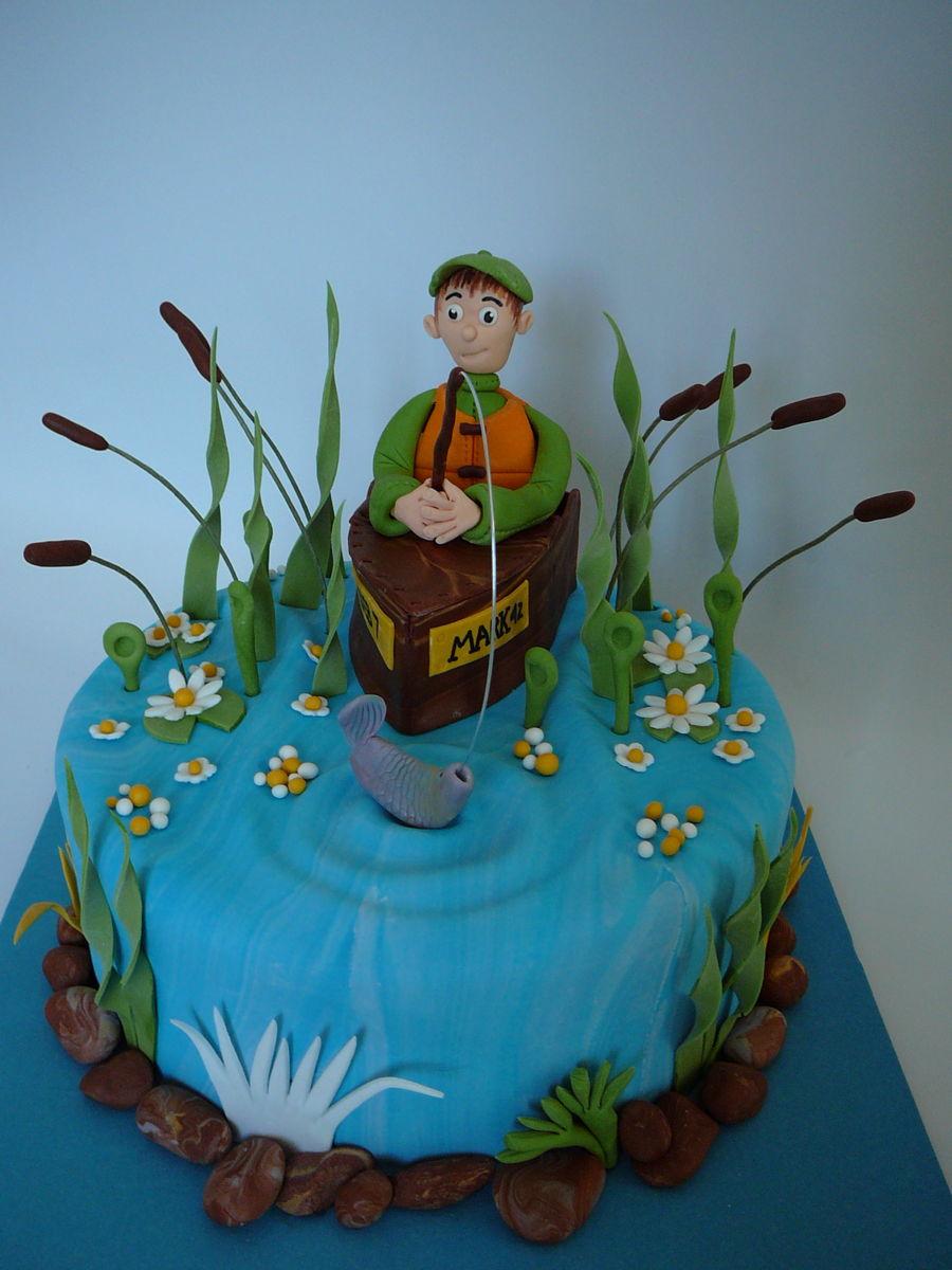 Fisherman Cake Cakecentral Com