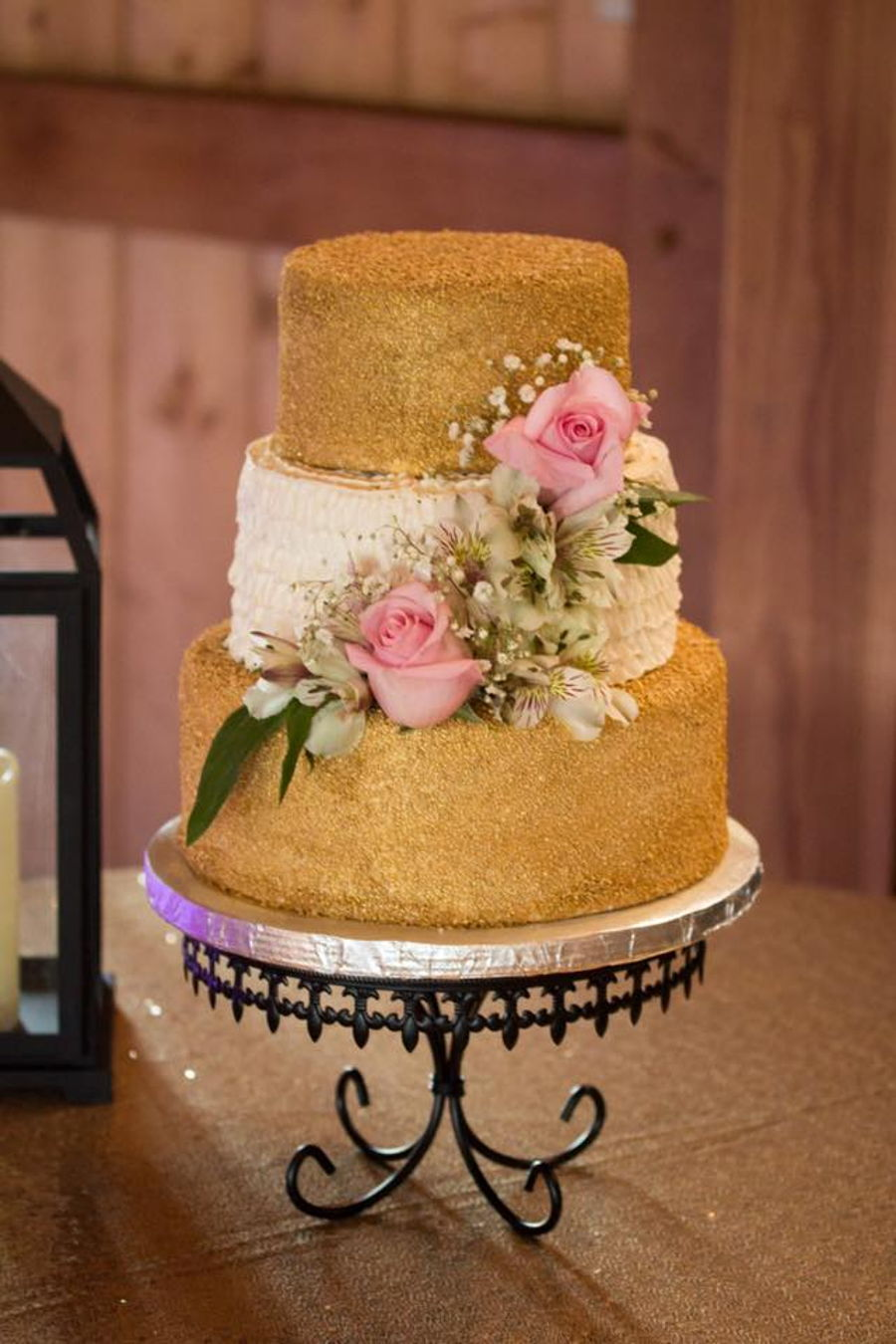 gold and pink wedding cakes gold and pink wedding cake cakecentral 14740