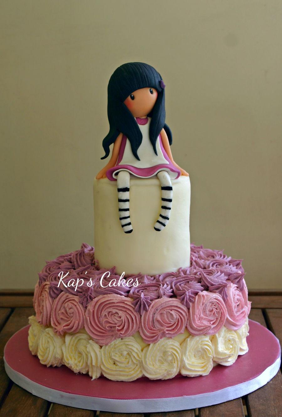 Gorjuss Girl Cake Cakecentral Com