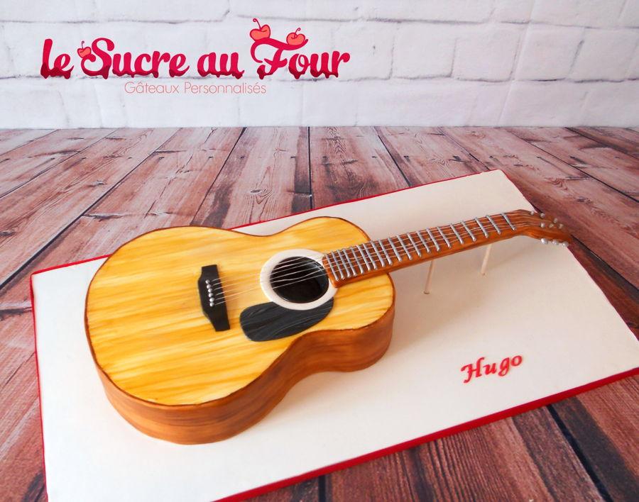Mini Guitar Cake Topper