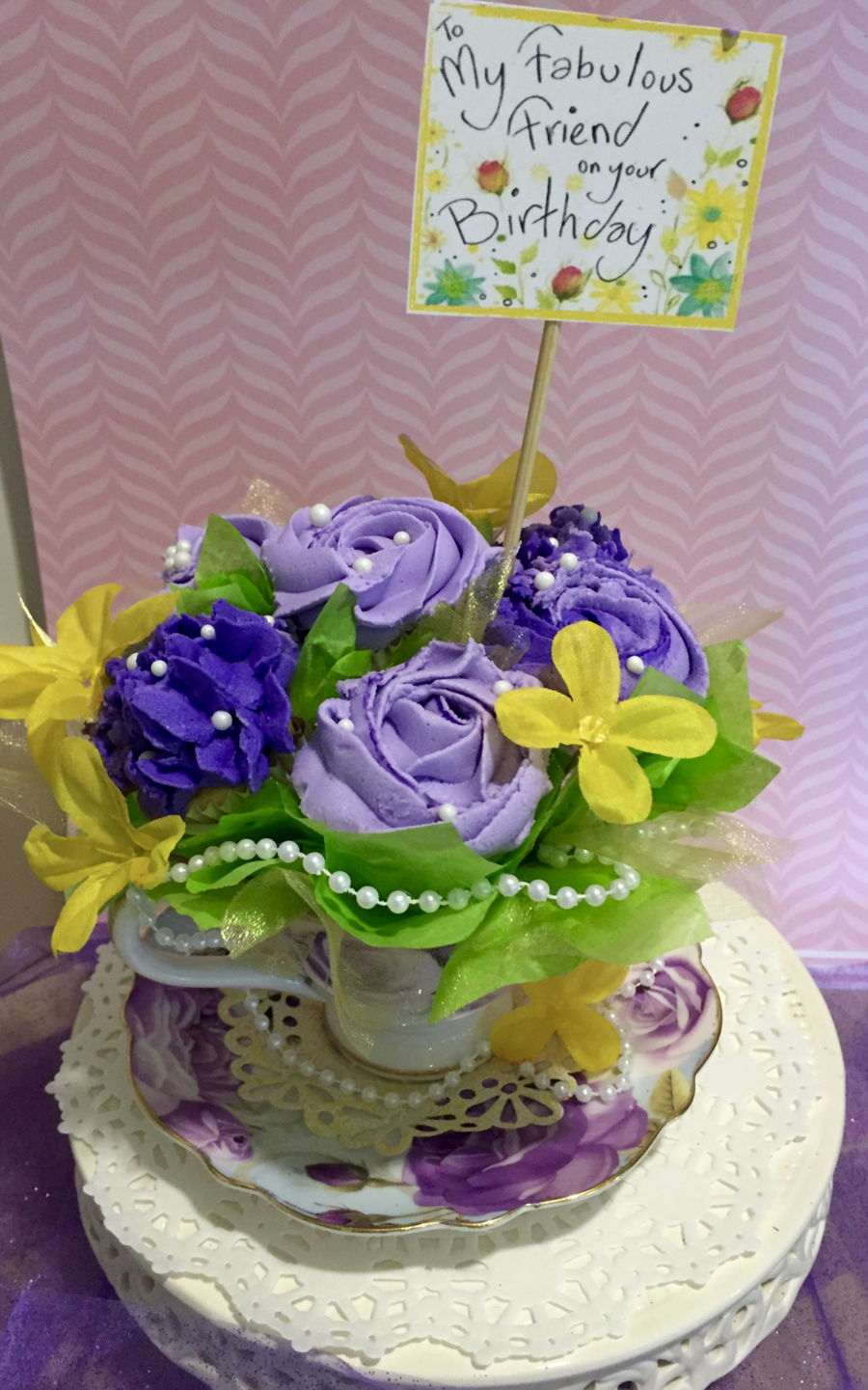 Happy Birthday Cupcake Bouquet - CakeCentral.com