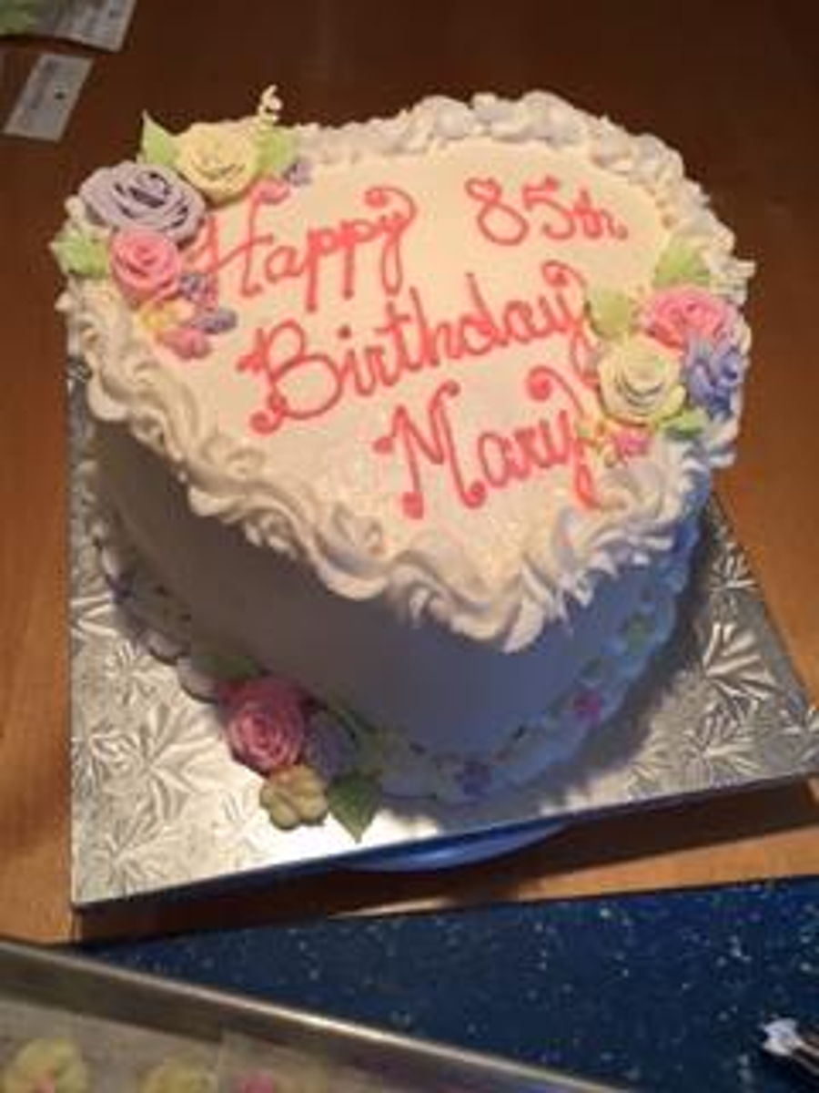 Happy Birthday Mary Cakecentralcom