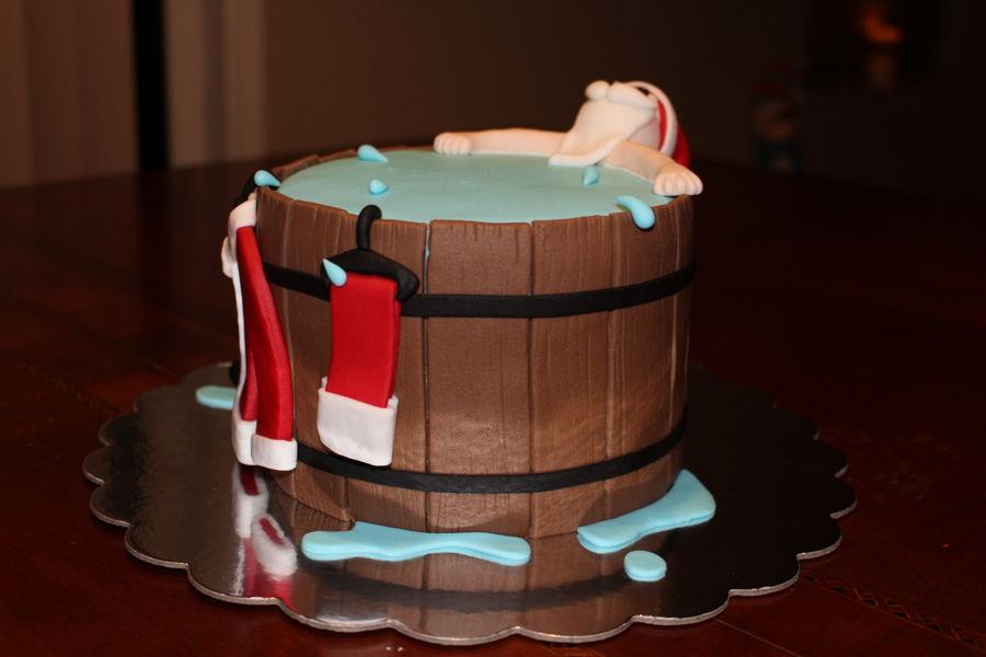 Hot Tub Santa Cakecentral Com