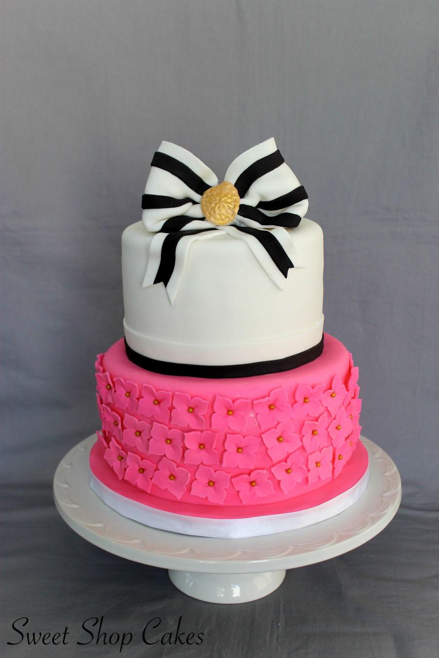 Kate Spade Birthday Cake