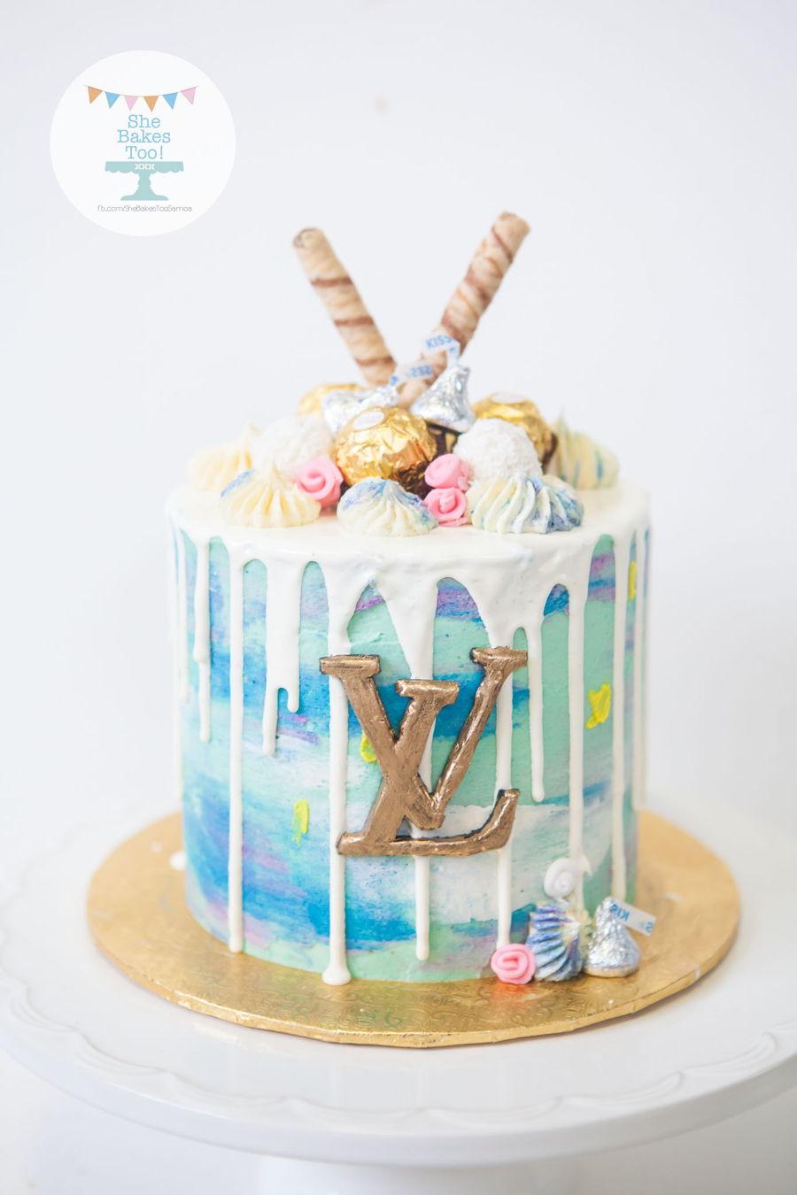 Lv Drip Cake Cakecentral Com