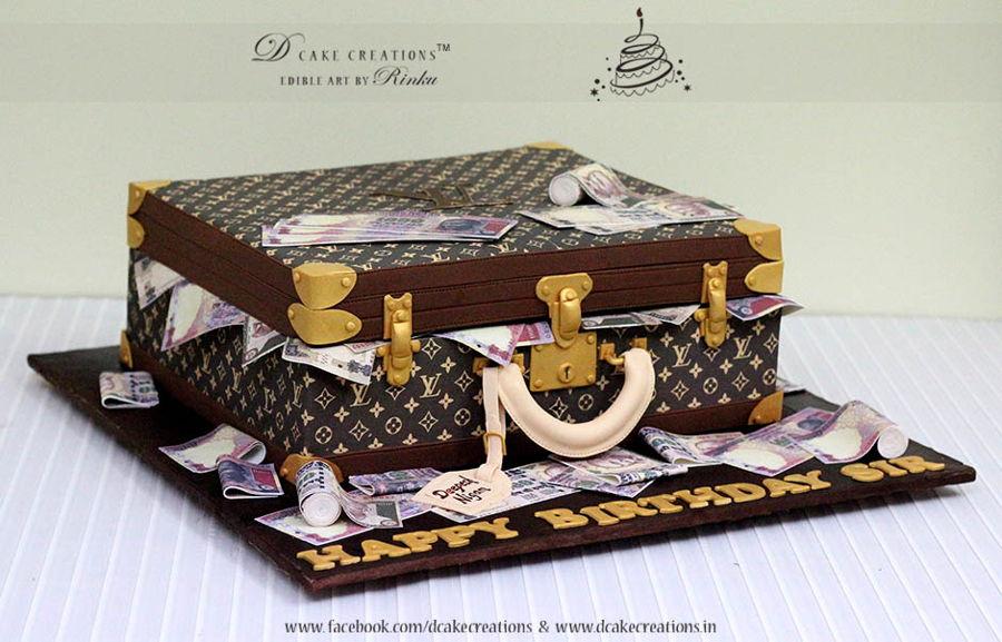Suitcase Cake Recipe