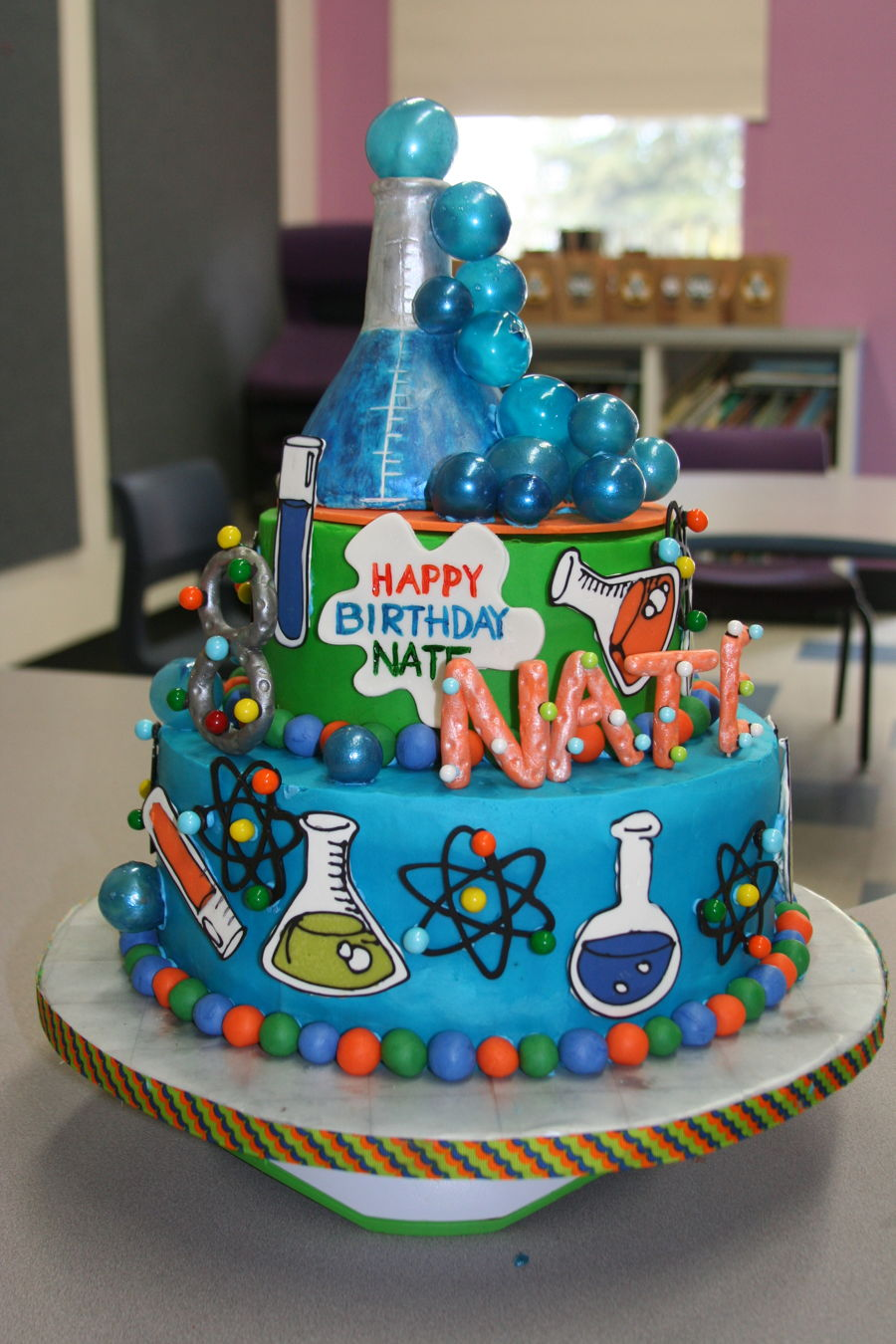 Mad Scientist Cake Cakecentral Com