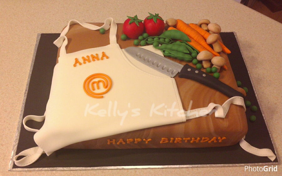 Cake Decorating Chefs : Master Chef Birthday Cake - CakeCentral.com