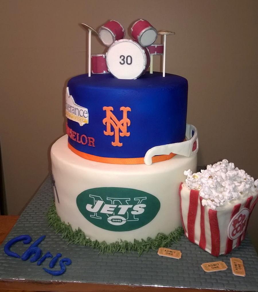 Mens Th Birthday Cake Topper