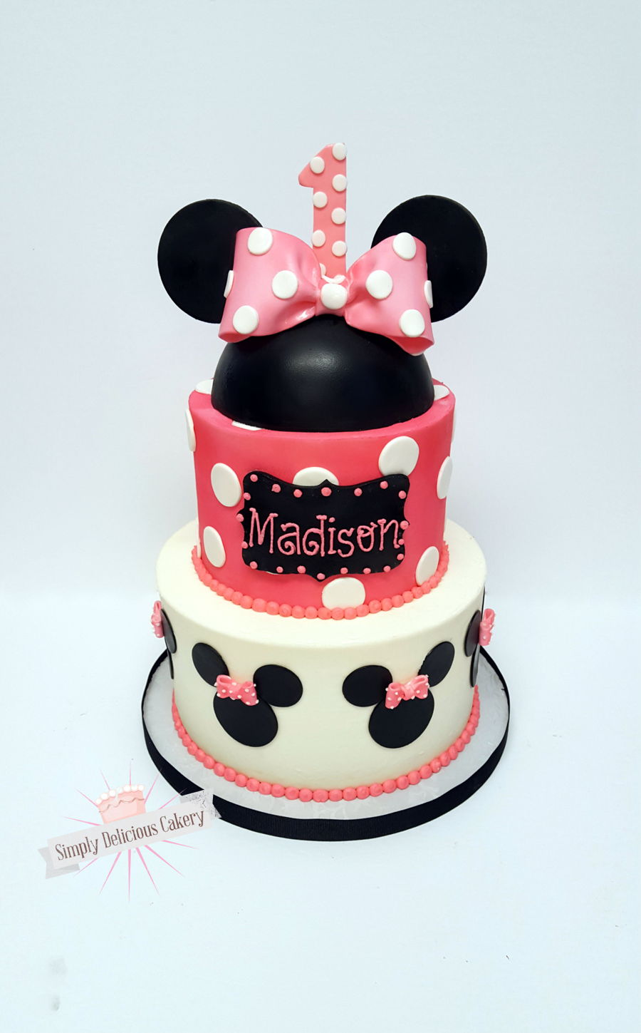 Minnie Mouse 1St Birthday on Cake Central