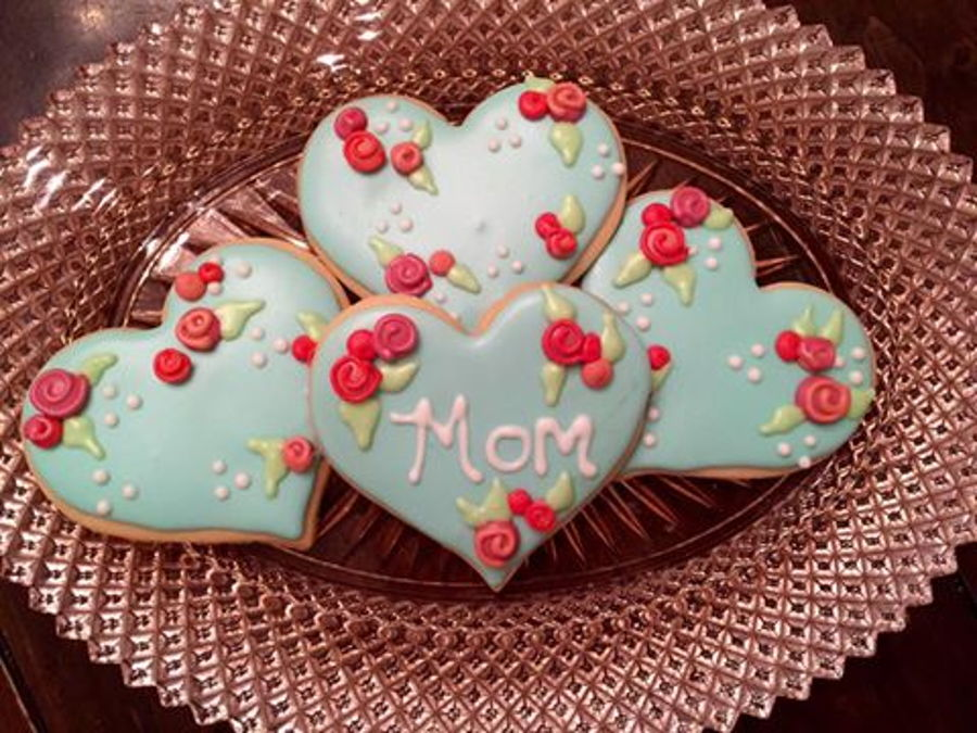 Mother S Day Sugar Cookies Cakecentral Com