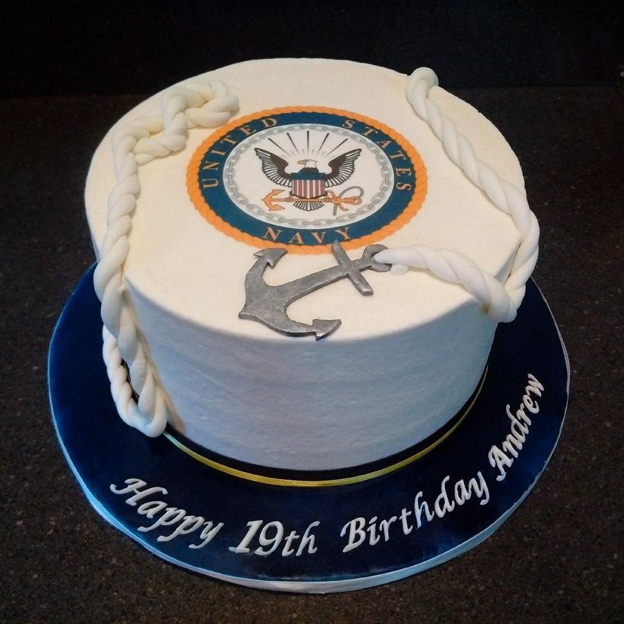 Birthday Cake Navy
