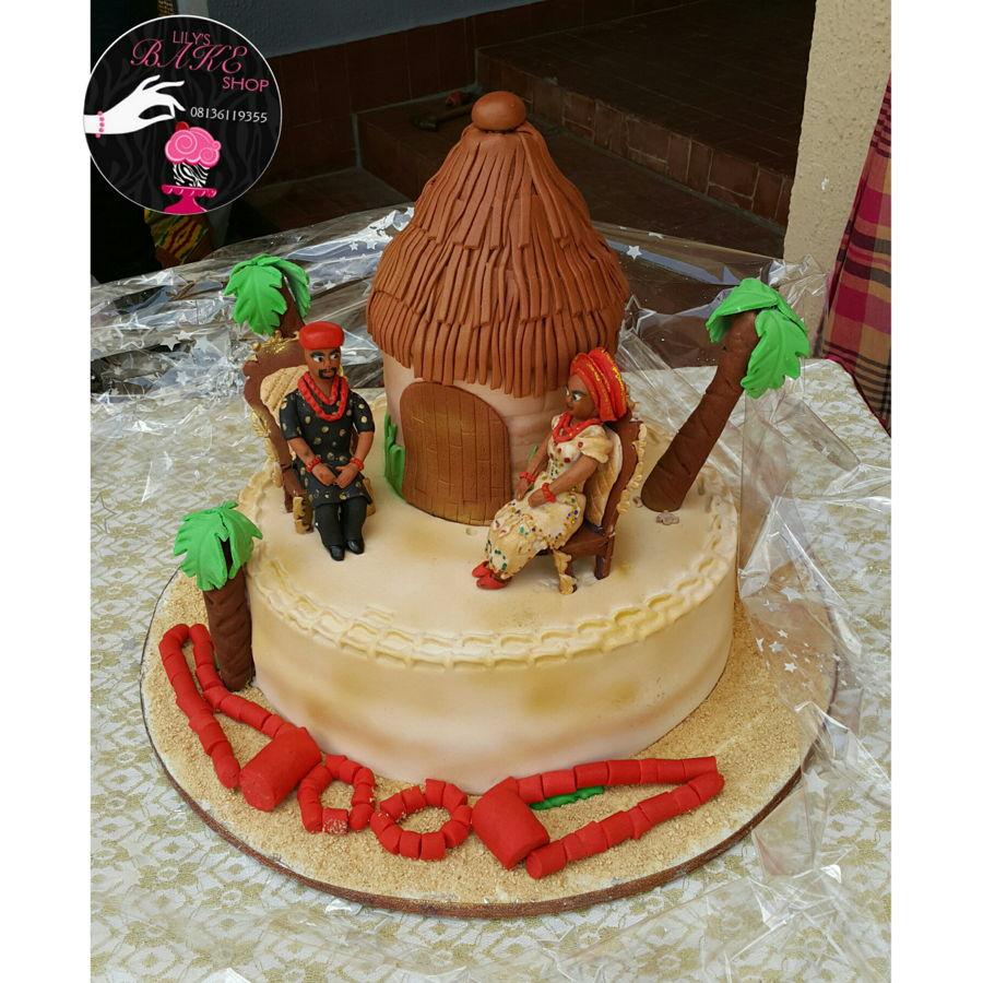 Naija Cake: Nigerian Traditional Marriage Cake