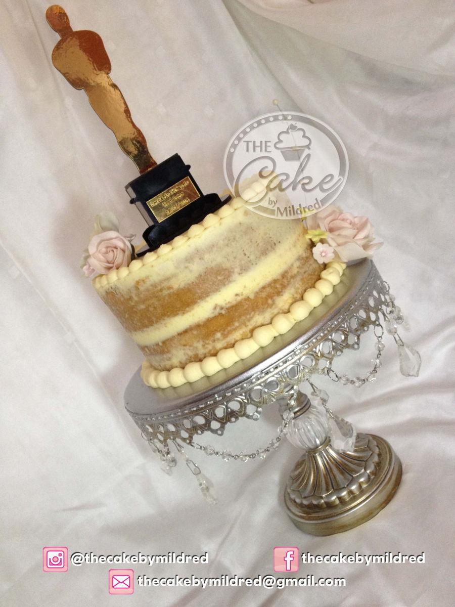 Oscars Cake Topper