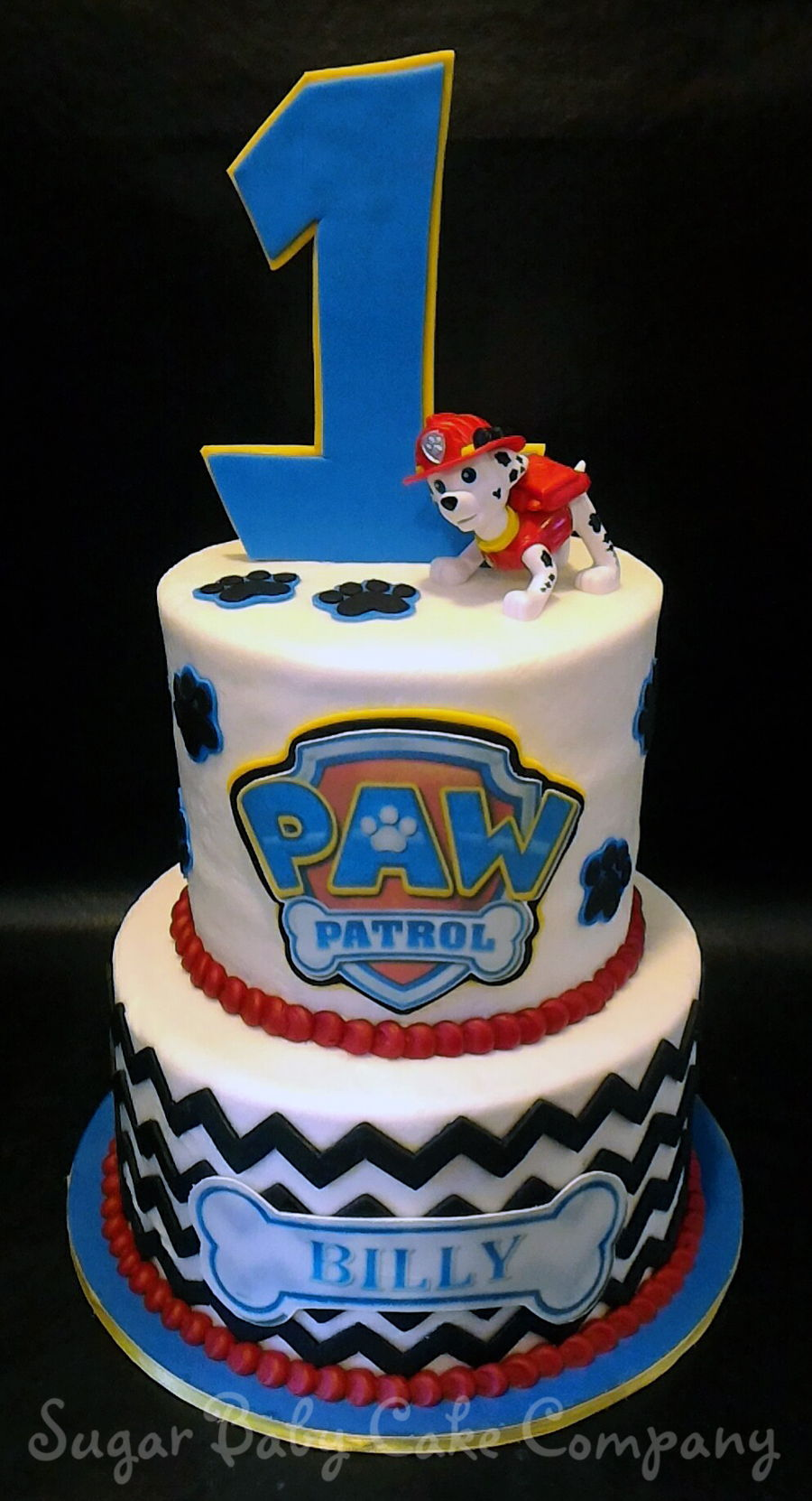 Paw Patrol 1st Birthday Cake Cakecentral Com