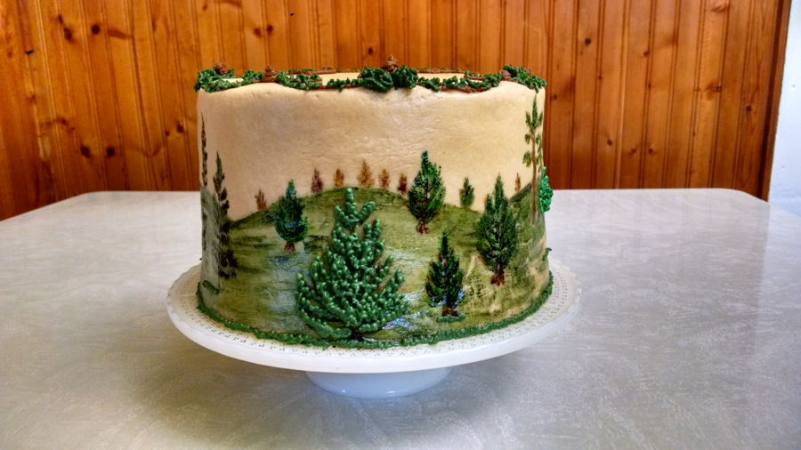Pine Trees For Randi 2015 Cakecentral Com