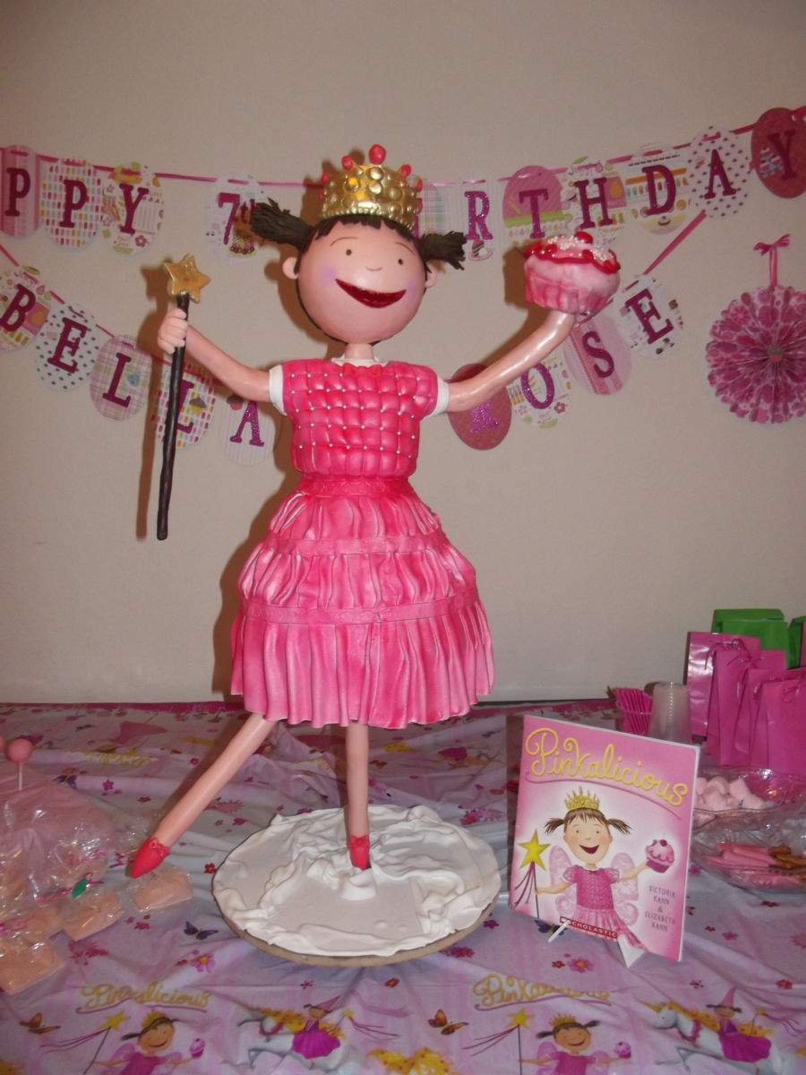 Pinkalicious on Cake Central