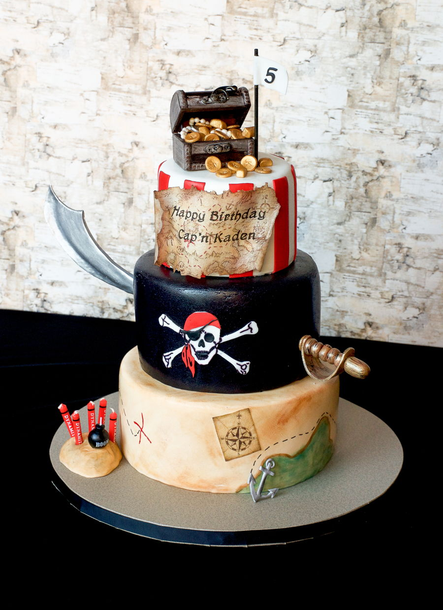 Pirate Birthday Cake - CakeCentral.com