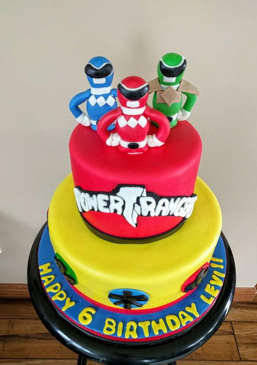 Power Ranger Cakes Photos