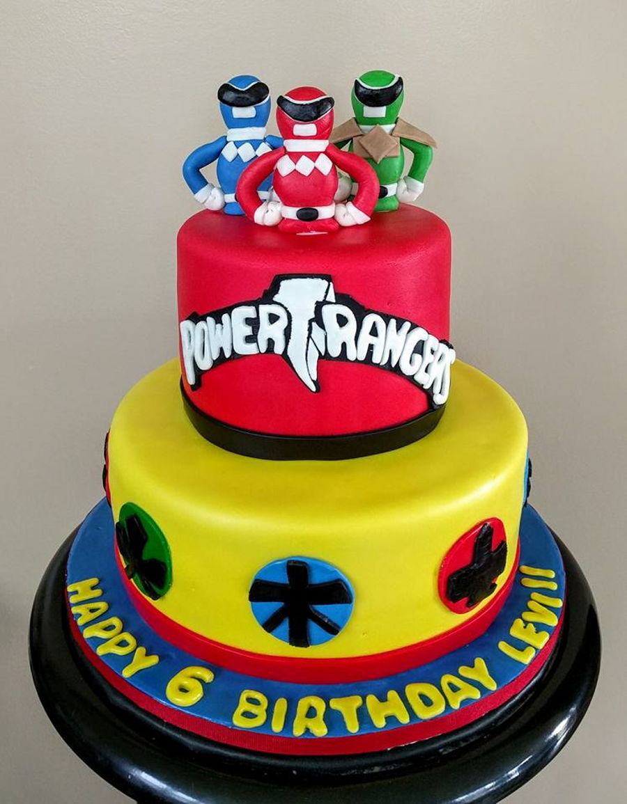power rangers cake ideas power ranger cakecentral 6740